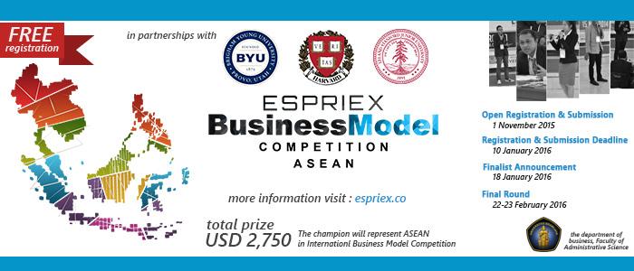 ESPRIEX BMC ASEAN - 2016