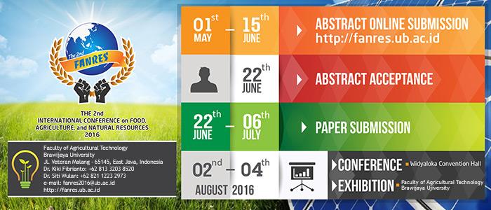Konferensi Internasional 2nd FANRES 2016