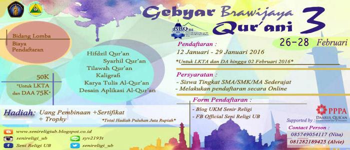 GBQ3 - Gebyar Brawijaya Qurani 3