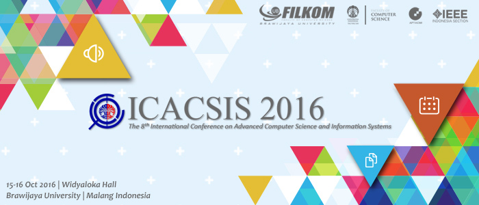 The ICACSIS 2016