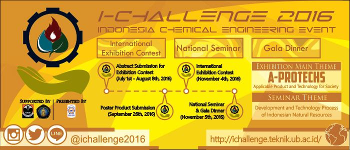 Indonesia Chemical Engineering Event (i-challenge) 2016