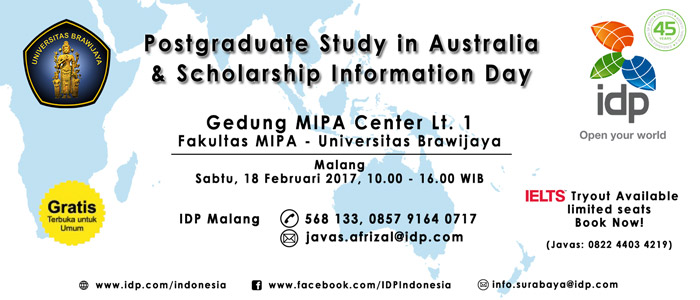IDP Postgraduate Study and Scholarship Information Day