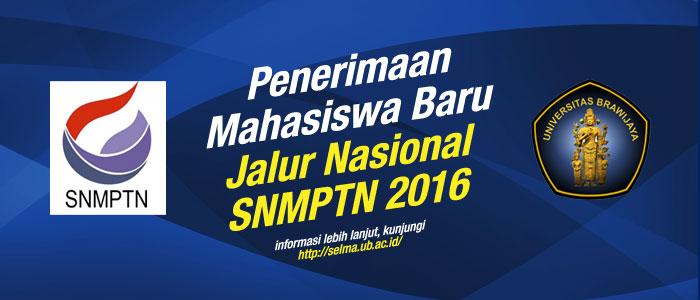 Informasi Jalur Nasional SNMPTN 2016