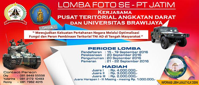 Lomba Foto - TNI AD dan UB