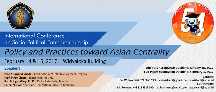 International Conference on Socio-Political Entrepreneurship