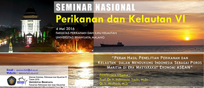 Fisheries and Seas National Seminar 2016