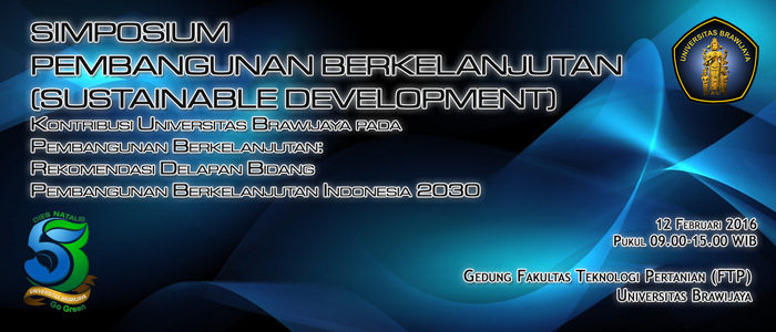 Sustainable Development Symposium Slide
