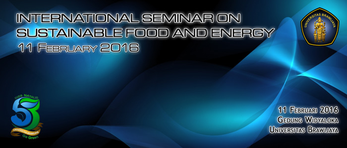 International Seminar on Sustainable Food and Energy Slide